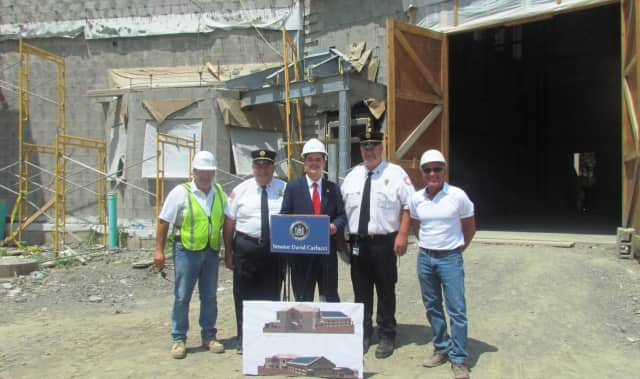 A $75,000 legislative grant will help make the new Nanuet Firehouse more energy efficient.