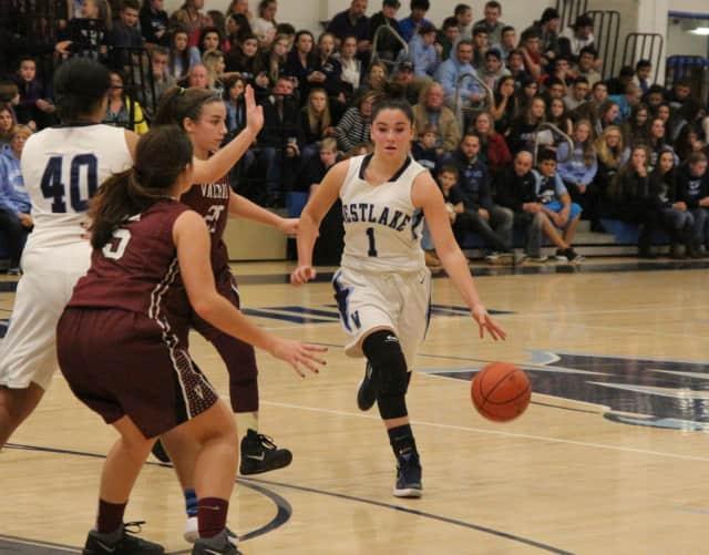 Lohud named Westlake High School varsity basketball player Natalie Alfieri Player of the Week.
