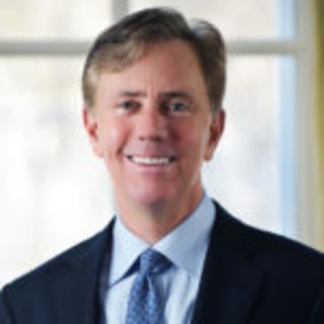 Gubernatorial contender Ned Lamont