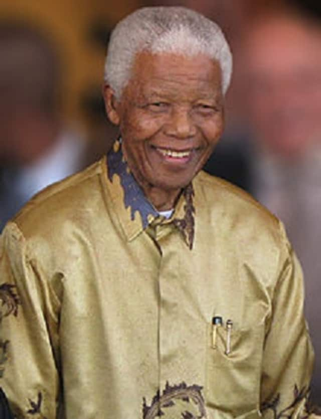 Norwalk Community College plans to honor Nelson Mandela with a food drive through July 18, then a special screening that day of a movie based on Mandela's life.