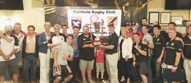 Area lawmakers came together June 10 to pay tribute to Fairfield's rugby clubs.
