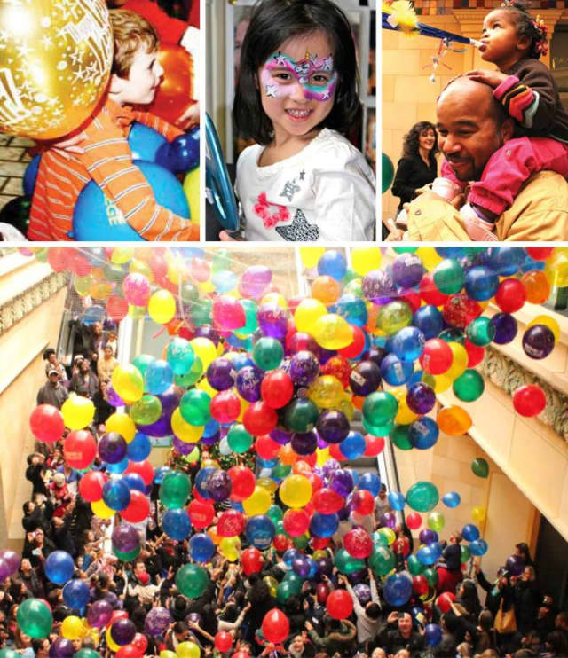 Families can ring in the New Year at New Roc City in New Rochelle on Thursday, Dec. 31. Registration is required for the event, which is raising money for the Westchester Children's Museum in Rye.