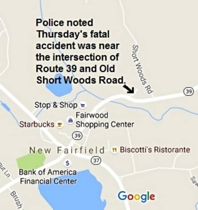A motorcyclist was killed on Thursday in an accident on Route 39.
