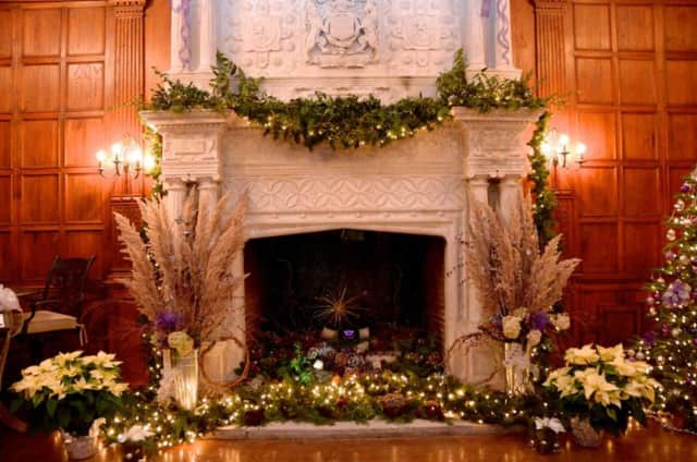 Skylands Manor in Ringwood is open for holiday tours.