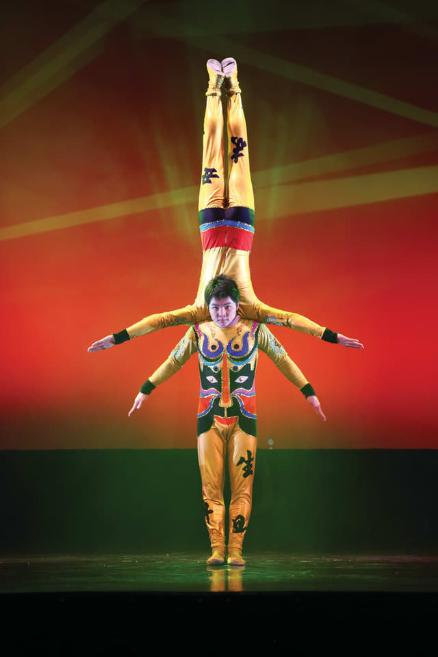 New Shanghai Circus will perform at the Ridgefield Playhouse on March 6.
