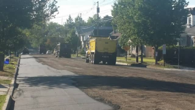 Christie Heights Street in Leonia will be closed Wednesday for milling, and Monday for paving.