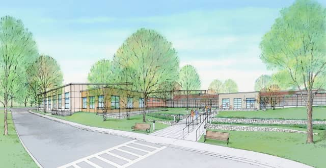 An artist's rendering of the new campus, which will quadruple the organization's current space.