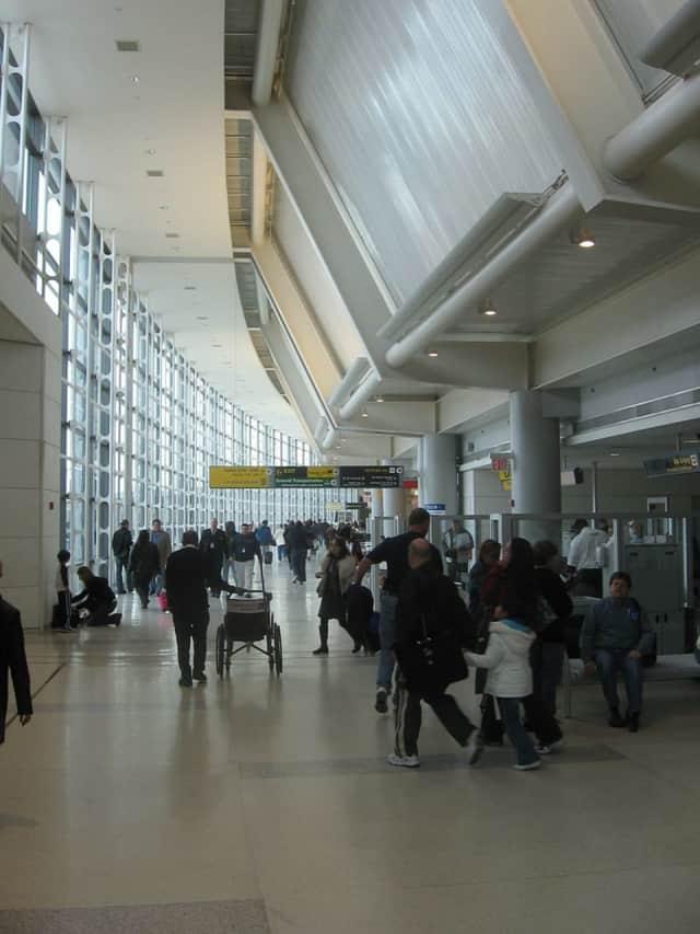 Newark Airport.