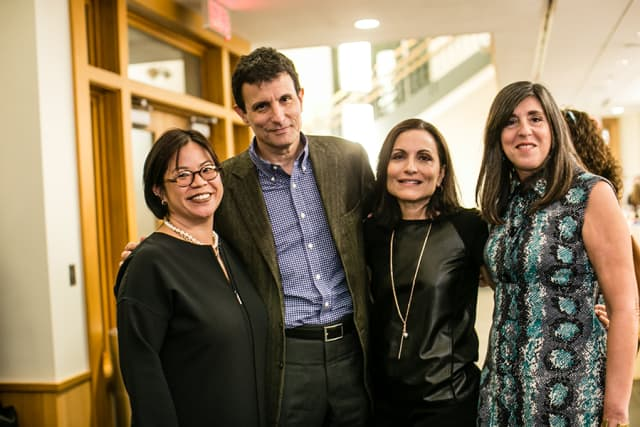 (From left to right) NEXT for AUTISM board members Christine Lai, David Remnick and Esther Fein, with President Ilene Lainer. Courtesy Josh Wong Photography.