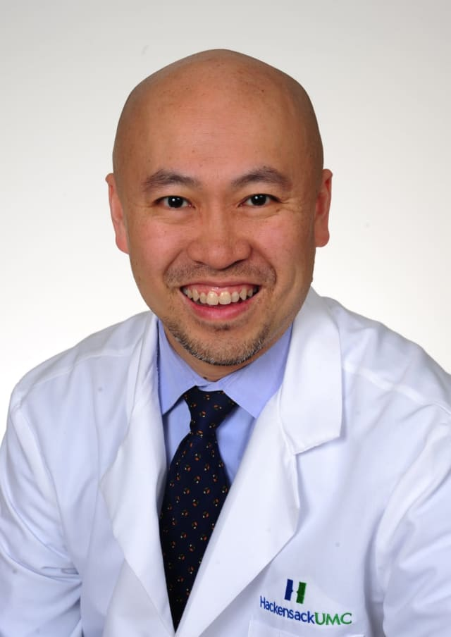 Pakkay Ngai, M.D., a Pediatric Pulmonologist at the Institute for Sleep Work Disorders at the Joseph M. Sanzari Children's Hospital at Hackensack Meridian Health Hackensack University Medical Center.
