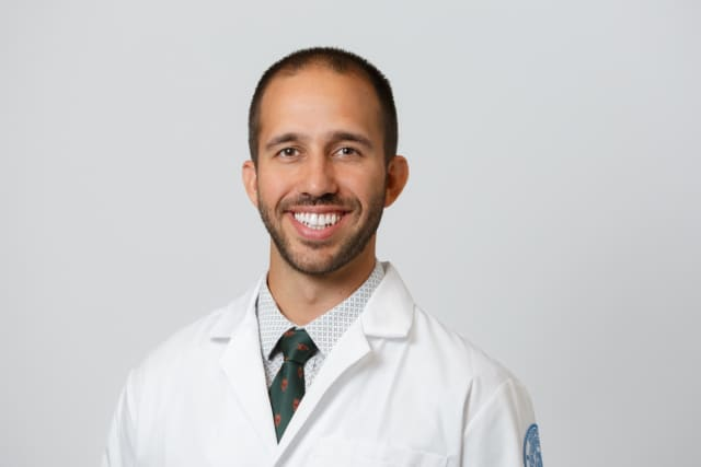 Dr. Nicholas Sgrignoli, primary sports medicine physician at HSS Stamford.