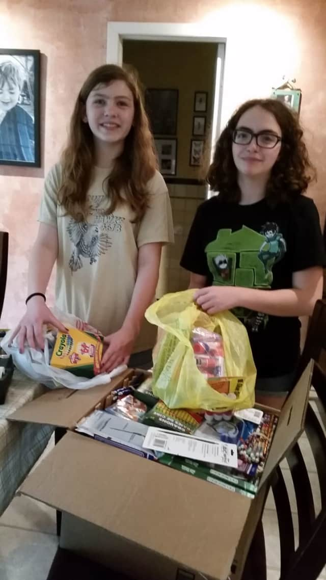 Holdrum Middle Schoolers Nina and Emma will be selling baked goods at the River Vale Farmers Market for their Girl Scouts Silver Award.