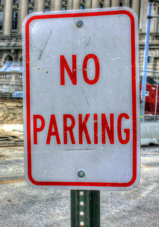 There will be no parking on several Croton-on-Hudson streets on Monday and Tuesday.