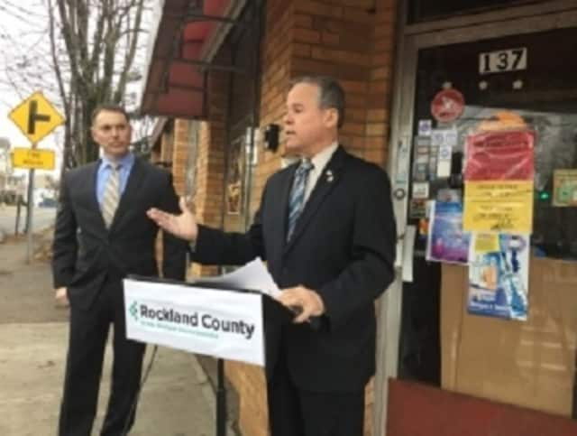 Rockland county Executive Ed Day credited Youth Connections, a county program that provides assistance to students and other young people looking for gainful employment.