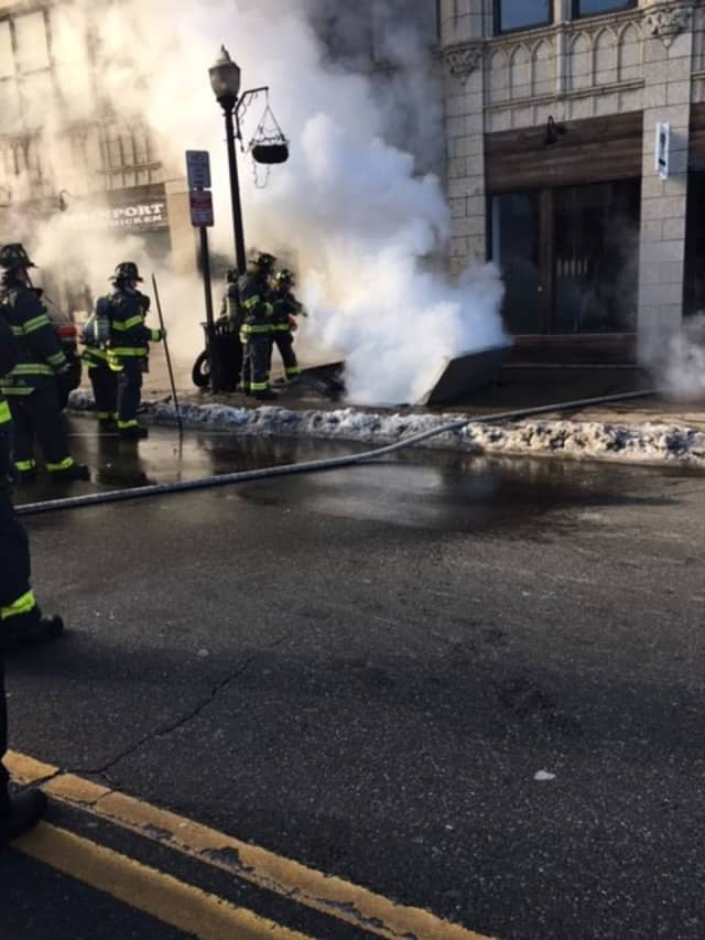 Several Norwalk buildings are still without power due to an underground transformer fire and explosion.