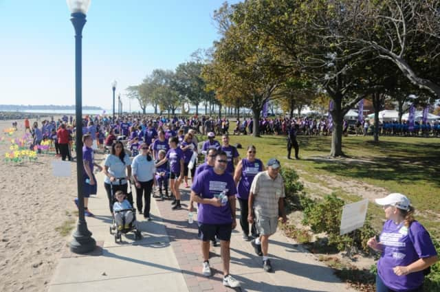 Calf Pasture Beach in Norwalk will host the Walk to End Alzheimer's in October.
