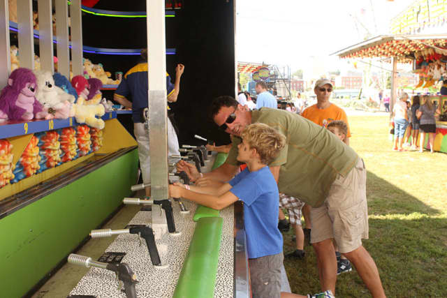 There will be plenty of games for families to enjoy at the Norwalk Seaport Association Oyster Festival this weekend.