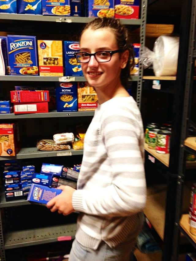 Park Ridge's Our Lady of Mercy has held food drives and stocked shelves for Pascack Food Center.