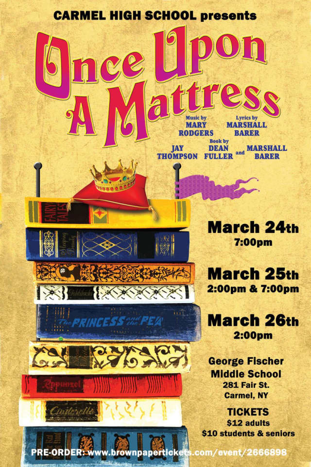 """Carmel High School students are performing in """"Once Upon A Matress."""""""