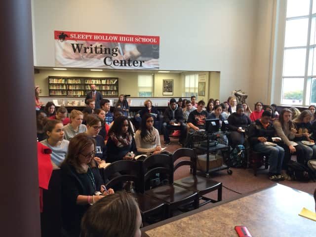 Sleepy Hollow High School is motivating its students to start thinking about their interests in a career and fields of study to pursue after high school with the return of its Power Lunch Career Panels.