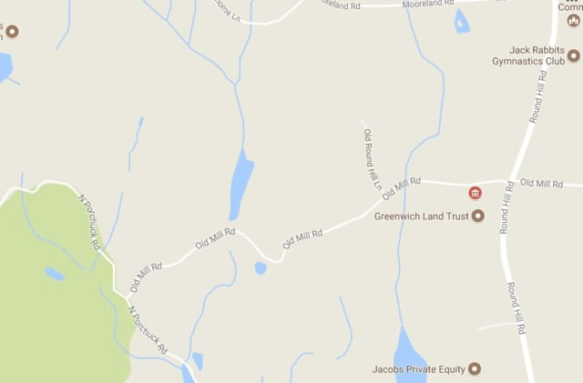 Old Mill Road is closed between North Porchuck Road and Round Hill Road Wednesday afternoon.
