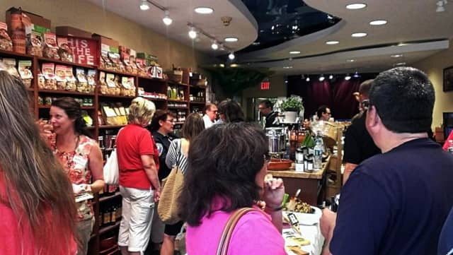 Olive Branch & Grape Vine hosts tastings, too, but this week it's coming to the Ramsey Library.