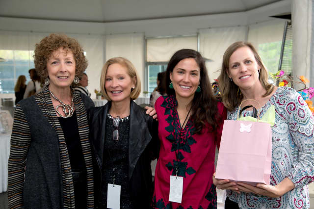 L to R: Norma Burnett, Mary Jo Bramson, Rebecca Beaton, Carol Ann Killian