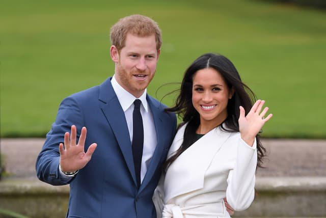 Prince Harry and his intended, Meghan Markle. Courtesy Getty Images.