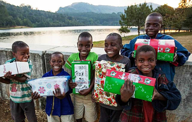 An Oct. 8 rummage sale will help ship gifts to kids in war-torn and other imperiled areas.