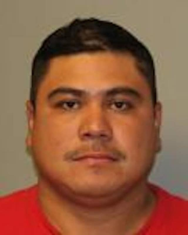 Elio Ortega was charged with driving drunk with his 3-year-old daughter unsecured in the backseat of the car.