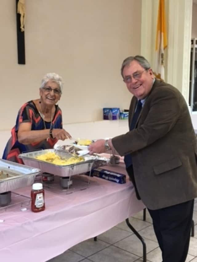 The Golden Eagles breakfast raised funds for the Ossining Food Pantry.