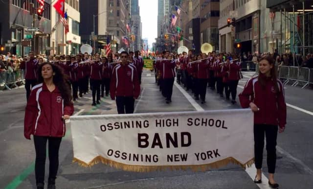 The Ossining school district has again been honored for its music education.
