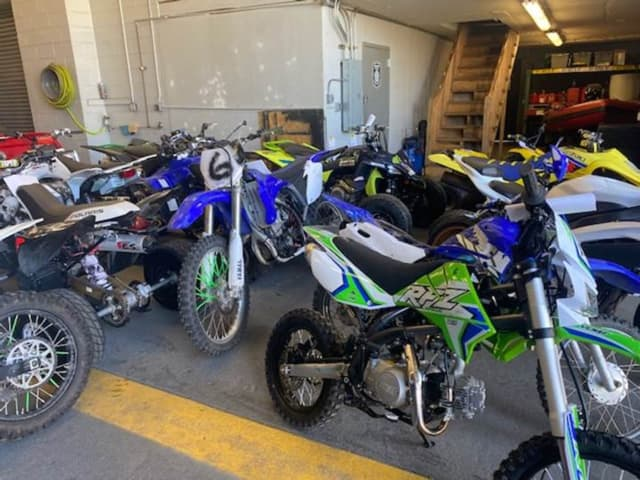 ATVs recovered