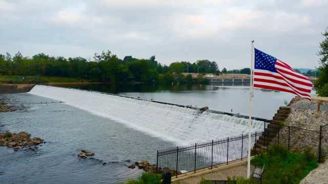 The Dundee Dam on the Passaic River