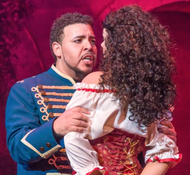 """Jose Heredia in """"Carmen"""" won first place in the New Jersey Association of Verismo Opera's 2014 Annual International Vocal Competition."""
