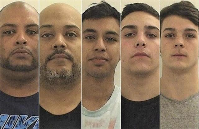 Pablo Perez Centenzo, Jose J. Baez Perez, Christian Marin, Gunnar Szul, Lucas Jackson.