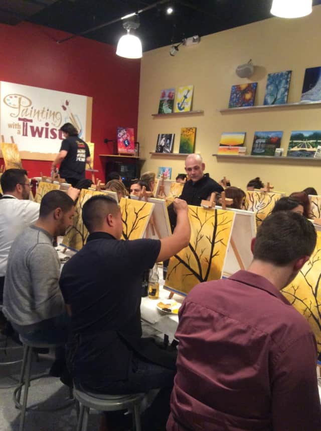 Painting with a Twist in Scarsdale is open for business for those wishing to paint in Scarsdale.