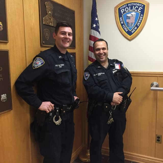 Port Authority Police Officers Matthew and Mike Annunziata
