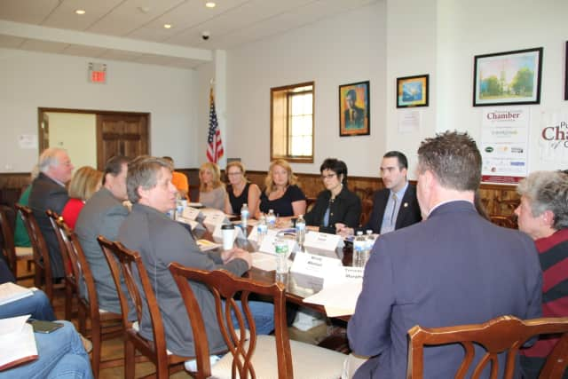 State and county officials recently attended a Chamber of Commerce forum to address issues important to Putnam County.