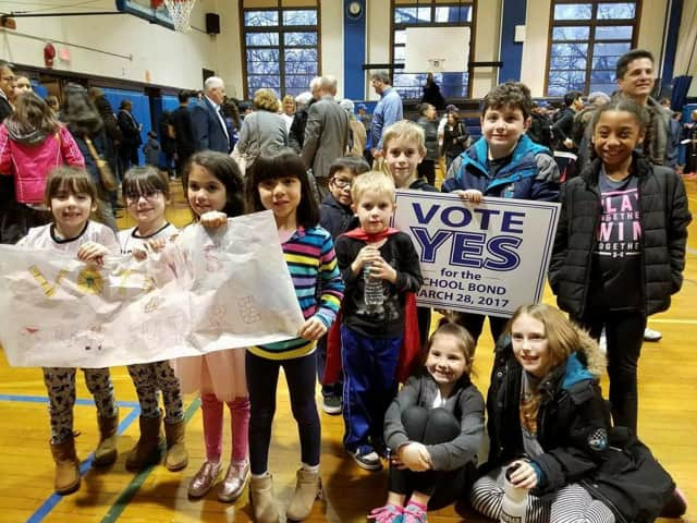 "Students, parents and teachers turned out for a rally at Port Chester High School last spring in support of an $80 million bond for new construction at five schools. Port Chester-Rye Union Free School District is now ""susceptible to fiscal stress."""