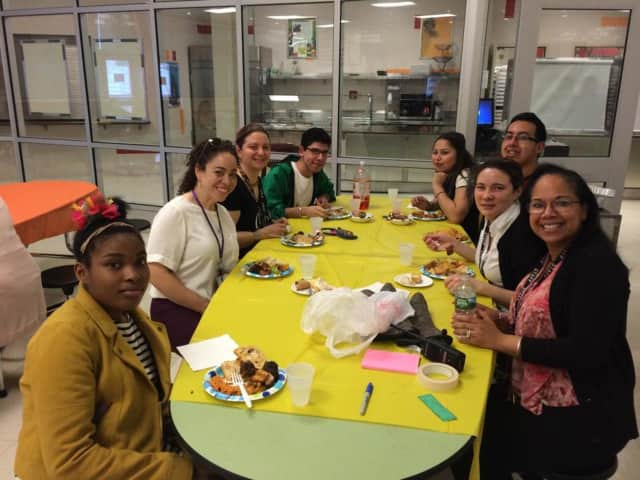 Peekskill High School's students and teachers enjoyed the Food Festival, which offered more than 50 student-prepared dishes from a variety of countries, including India, Mexico, Ireland, Vietnam, England, Jamaica and more.