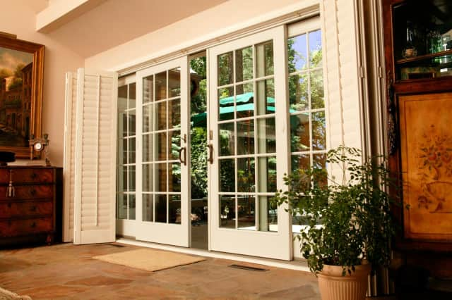 Making sure your patio doors slide smoothly is important as nights begin to get cooler.