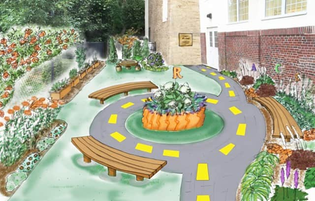 "The Larchmont Public Library will dedicate ""Ryder's Children's Garden"" Sept. 26."