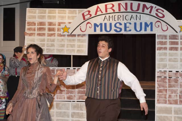 "The cast of St. Catherine's Players' production of ""Barnum"" rehearses for a production earlier this years. The theater group will have auditions for ""Peter Pan"" beginning Nov. 30."