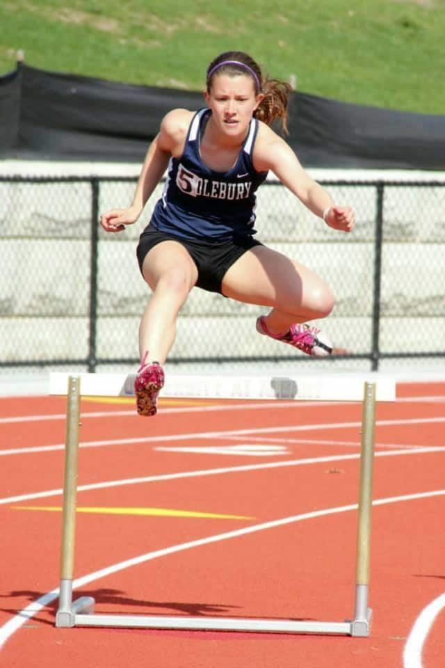 After a standout career at River Dell, Paige Fernandez is a top hurdler and relay team runner for Middlebury College