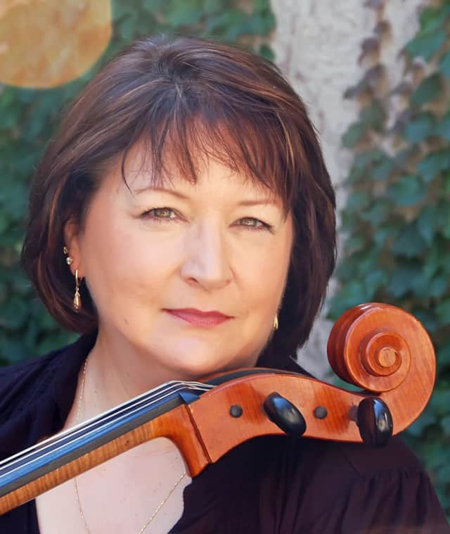 Internationally recognized cellist, Pamela Devenport.