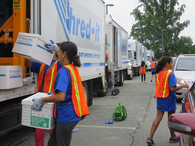 The Township of Wyckoff has scheduled a mobile paper shredding vehicle for April 16 at the recycling center..