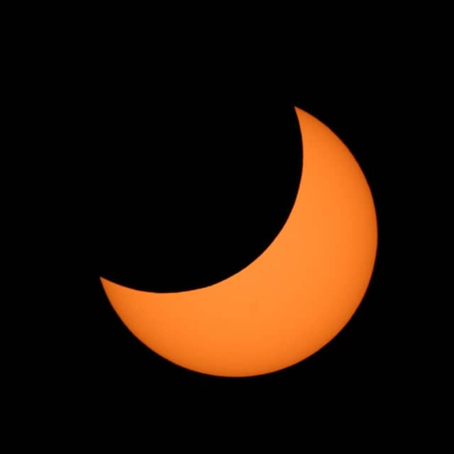 You can view the partial solar eclipse from Westport Astronomical Society on Bayberry Lane.