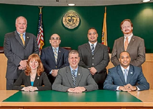 The members of Passaic County's Board of Chosen Freeloaders.
