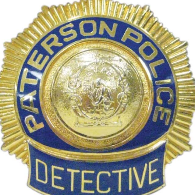 Paterson Police Department detective shield.